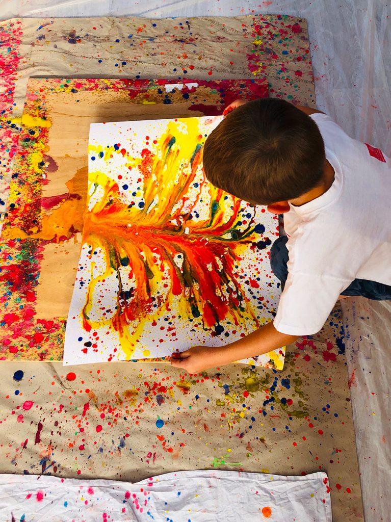 Peinture Libre Pour Enfants Atelier De Letty Nouveau Saint Jouan